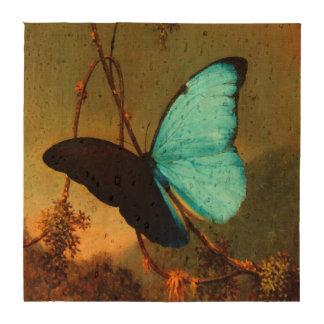 Martin Johnson Heade Blue Morpho Butterfly Beverage Coaster