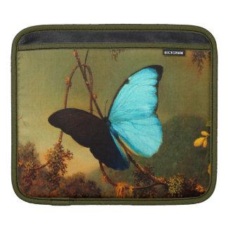 Martin Johnson Heade Blue Morpho Butterfly Sleeve For iPads
