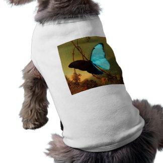 Martin Johnson Heade Blue Morpho Butterfly T-Shirt
