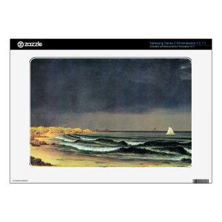 Martin Johnson Heade - Emerging storm Narragansett Samsung Chromebook Decals