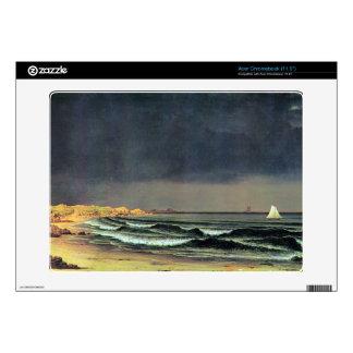 Martin Johnson Heade - Emerging storm Narragansett Skins For Acer Chromebook