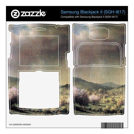 Martin Johnson Heade - lluvia de primavera el vall Samsung Blackjack II Skin