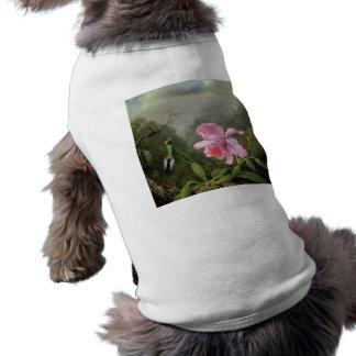 Martin Johnson Heade Orchid And Hummingbirds Shirt