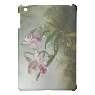 Martin Johnson Heade - Orchids and Hummingbirds Cover For The iPad Mini