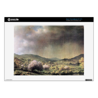 Martin Johnson Heade - Spring rain the valley of C Acer Chromebook Skin