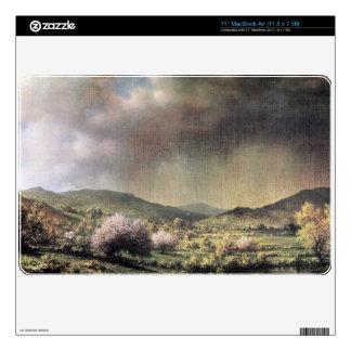 Martin Johnson Heade - Spring rain the valley of C MacBook Skins
