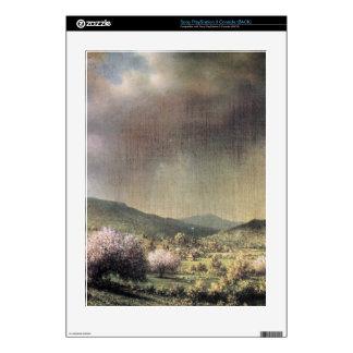 Martin Johnson Heade - Spring rain the valley of C PS3 Console Skins