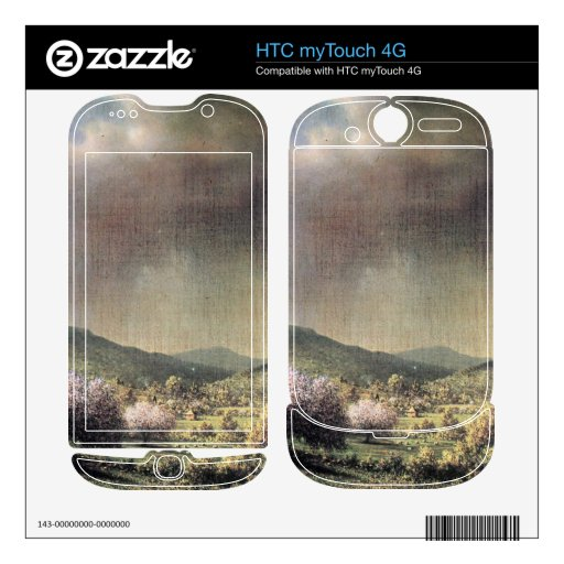 Martin Johnson Heade - Spring rain the valley of C Decal For HTC myTouch 4G