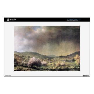 Martin Johnson Heade - Spring rain the valley of C Skins For Laptops