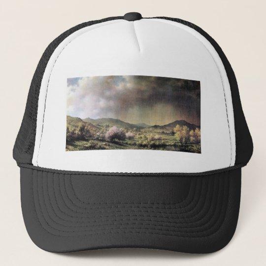 Martin Johnson Heade - Spring rain the valley of C Trucker Hat