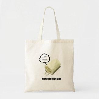Martin Loofah King Tote Bag