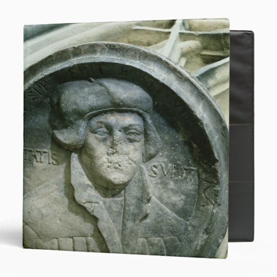 Martin Luther aged 57 with the Luther's Rose Binder