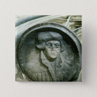Martin Luther aged 57 with the Luther's Rose Pinback Button