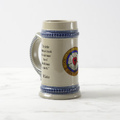 Martin Luther Beer Stein at Zazzle