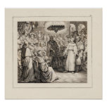 Martin Luther before the Diet of Worms. Print