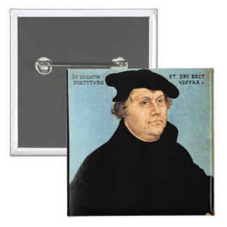 Martin Luther, c.1532 2 Inch Square Button