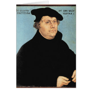 Martin Luther, c.1532 Card