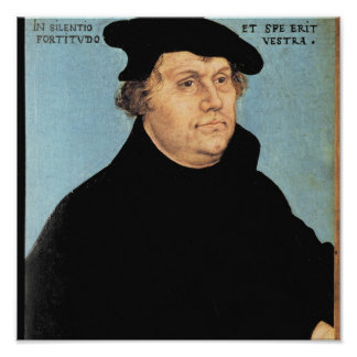 Martin Luther, c.1532 Póster