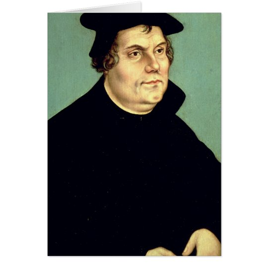 Martin Luther Card