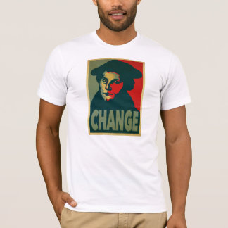 "Martin Luther ""Change"" Poster T-Shirt"