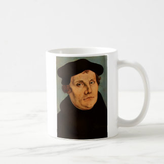 "Martin Luther Coffee Mug, ""Peace if possible, t... Classic White Coffee Mug"
