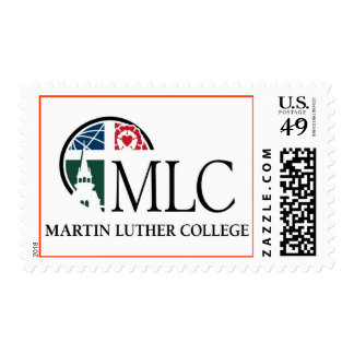 Martin Luther College Logo Postage Stamp