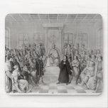 Martin Luther delante de Charles V Tapetes De Raton