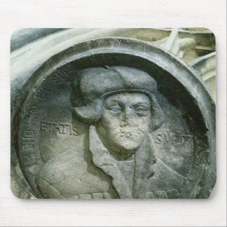 Martin Luther envejeció 57 con el Luther subió Alfombrillas De Ratón