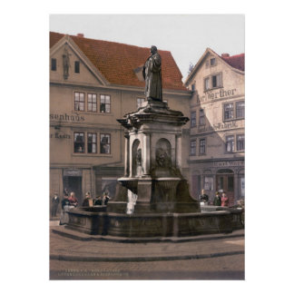 Martin Luther Fountain Posters