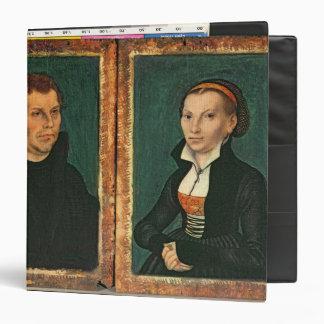 Martin Luther, Katharina von Bora, c.1526 Binder