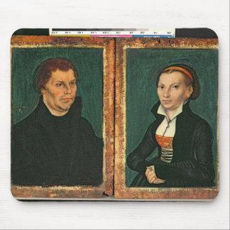 Martin Luther, Katharina von Bora, c.1526 Mouse Pad