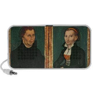 Martin Luther, Katharina von Bora, c.1526 iPod Speakers