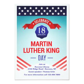 Martin Luther Kind Day Celebration Invitation
