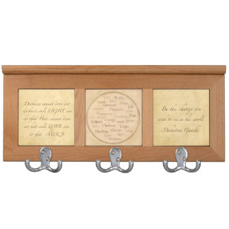 Martin Luther King Quotes Coat Rack