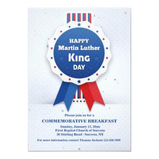 Martin Luther King Ribbon Invitation