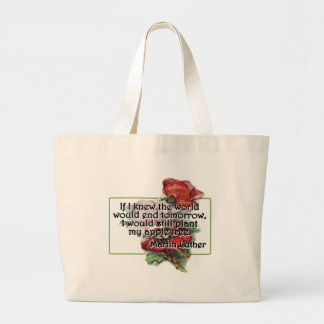 Martin Luther Large Tote Bag