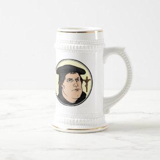 Martin Luther que confesaba a Cristo crucificó el Jarra De Cerveza