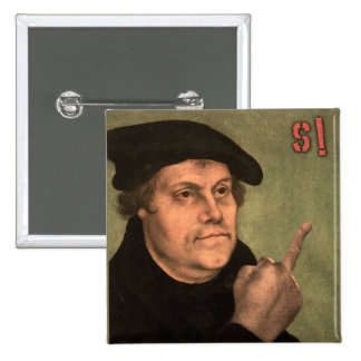 "Martin Luther ""stinking finger "" Pinback Button"