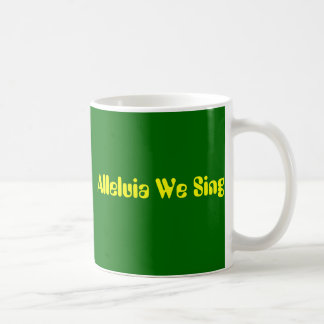 Martin LutherConcert ChoirandTroubadours, Allel... Classic White Coffee Mug