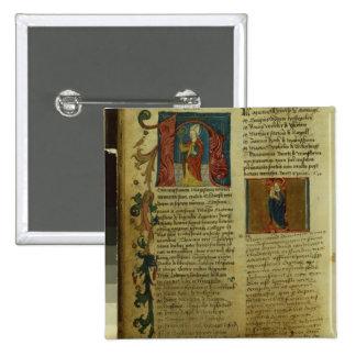 Martin Luther's Enrolment 2 Inch Square Button