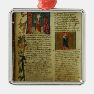 Martin Luther's Enrolment Metal Ornament