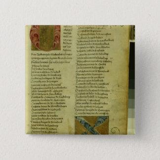 Martin Luther's enrolment sheet Pinback Button