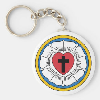 Martin Luther's Seal Keychain