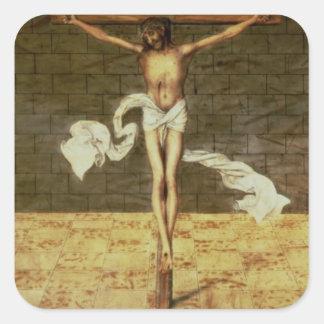 Martin Luther's Sermon Square Sticker