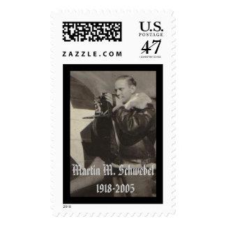 Martin M. Schwebel  1918 - 2005, Martin M. Schw... Postage Stamp