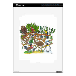 Martin meets the birds skins for iPad 3
