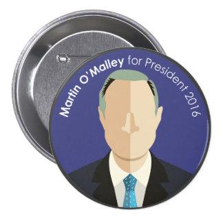 Martin O'Malley 2016 for president custom button