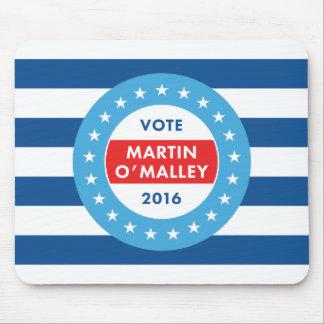 Martin O'Malley 2016 Alfombrilla De Ratón