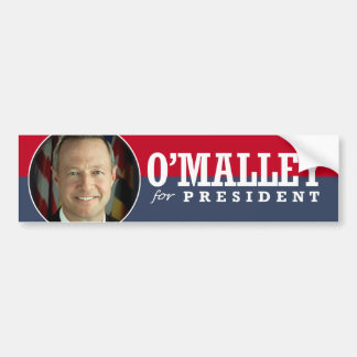 MARTIN OMALLEY 2016 BUMPER STICKER