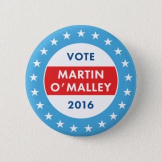 Martin O'Malley 2016 Button